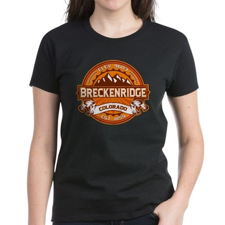 Breckenridge Tangerine Women's Dark T-Shirt
