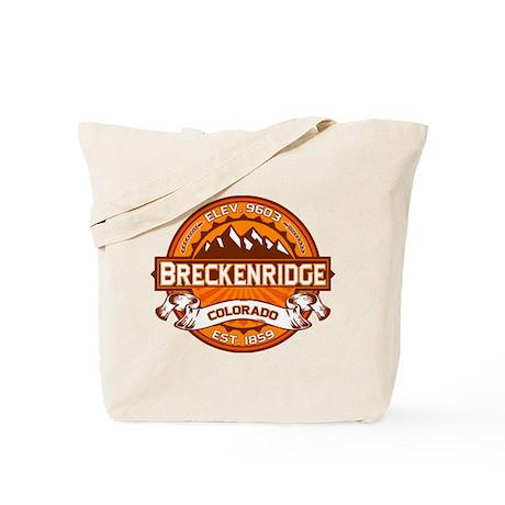 Breckenridge Tangerine Tote Bag