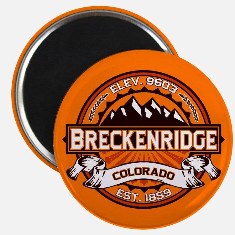 Breckenridge Tangerine Magnet