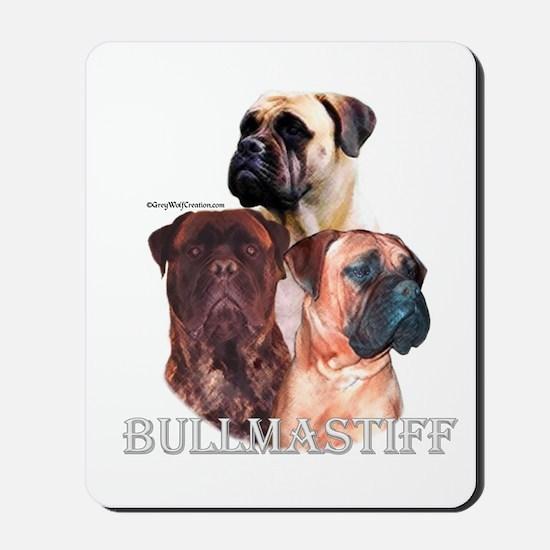 Bullmastiff 1 Mousepad
