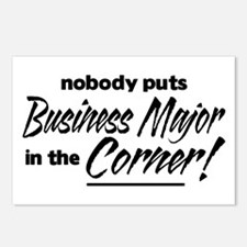 Business Major Nobody Corner Postcards (Package of