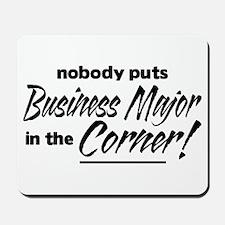 Business Major Nobody Corner Mousepad