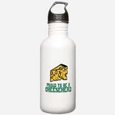 Proud Cheesehead Water Bottle