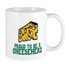 Proud Cheesehead Mug