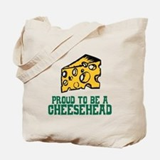 Proud Cheesehead Tote Bag