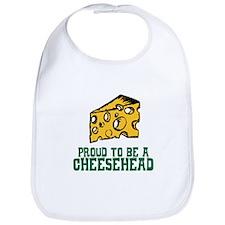Proud Cheesehead Bib