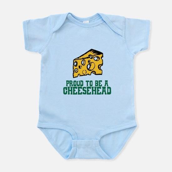 Proud Cheesehead Infant Bodysuit