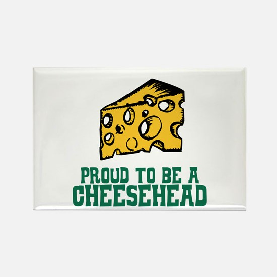Proud Cheesehead Rectangle Magnet