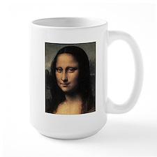 Mona Lisa (detail) Mug
