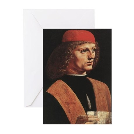 Portrait of a Musician Greeting Cards (Pk of 10)