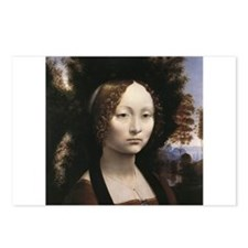 Portrait of Ginevra de Benci Postcards (Package of