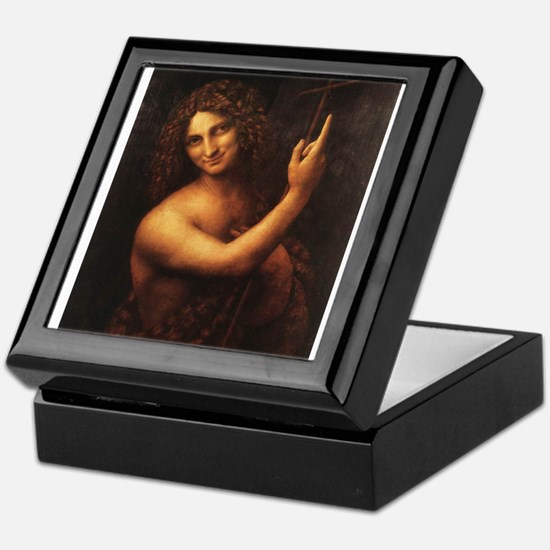 St John the Baptist Keepsake Box