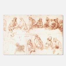 Study for The Last Supper Postcards (Package of 8)