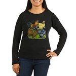 Purebred Bantam Quartet Women's Long Sleeve Dark T