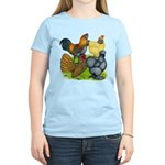 Purebred Bantam Quartet Women's Light T-Shirt