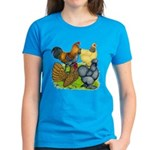 Purebred Bantam Quartet Women's Dark T-Shirt
