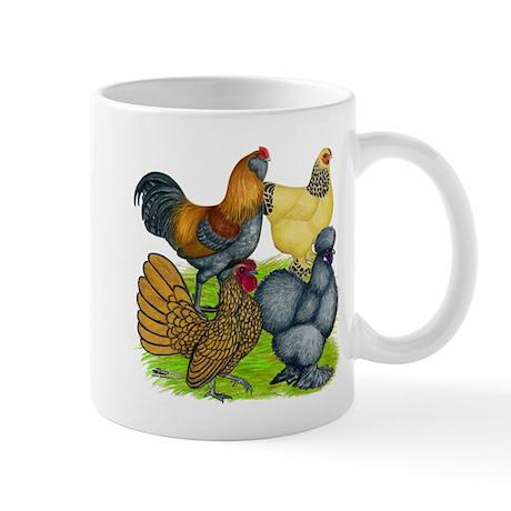 Purebred Bantam Quartet Mug