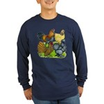 Purebred Bantam Quartet Long Sleeve Dark T-Shirt