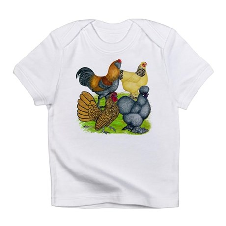 Purebred Bantam Quartet Infant T-Shirt