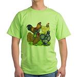 Purebred Bantam Quartet Green T-Shirt