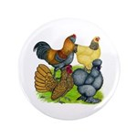 "Purebred Bantam Quartet 3.5"" Button"