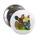 "Purebred Bantam Quartet 2.25"" Button"