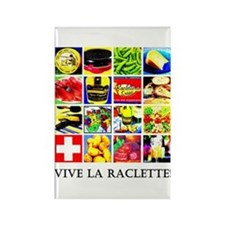 Vive la Raclette! Rectangle Magnet (10 pack)