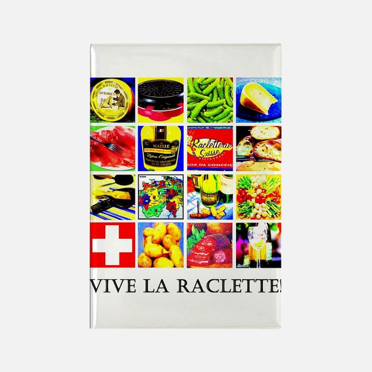 Vive la Raclette! Rectangle Magnet (10 pack)