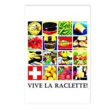 Vive la Raclette! Postcards (Package of 8)