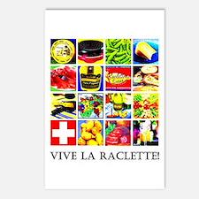 Vive la Raclette! Postcards (Package of 8)