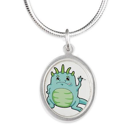Little Happy Monster Wave Necklaces