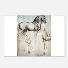 Study of Horses Postcards (Package of 8)