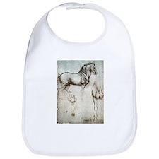 Study of Horses Bib