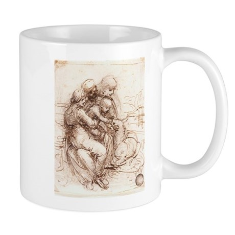 Study of St Anne, Mary, the C Mug