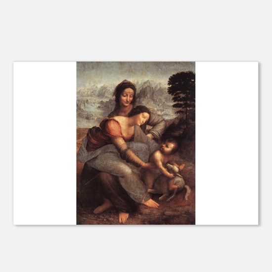 The Virgin and Child with St Postcards (Package of