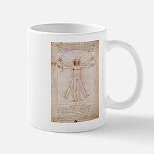 Vitruvian Man Mug