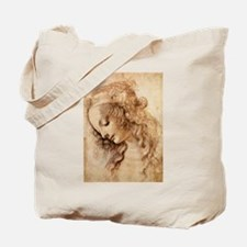 Womans Head Tote Bag
