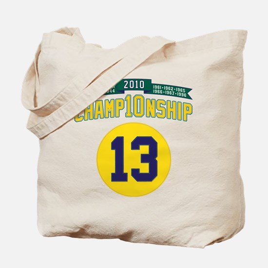 2010 Champ10nship 13 Tote Bag