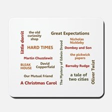 The Novels of Charles Dickens Mousepad