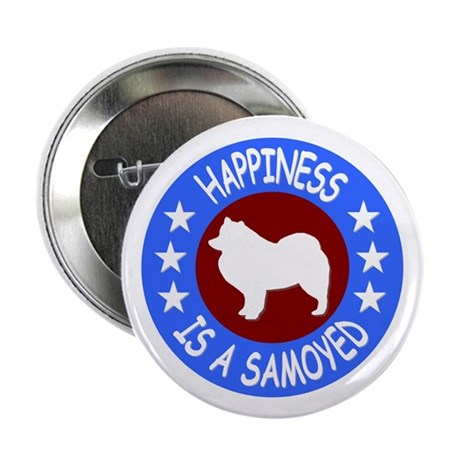 """Samoyed 2.25"""" Button (100 pack)"""