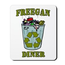 Freegan Diner Mousepad