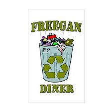 Freegan Diner Decal