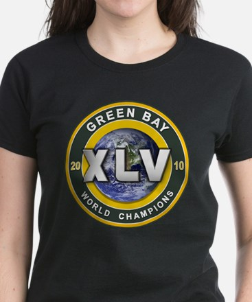 Green Bay 2010 World Champs Women's Dark T-Shirt