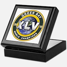 Green Bay 2010 World Champs Keepsake Box