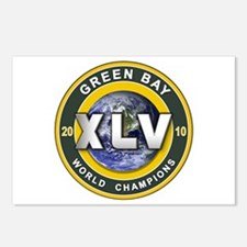 Green Bay 2010 World Champs Postcards (Package of