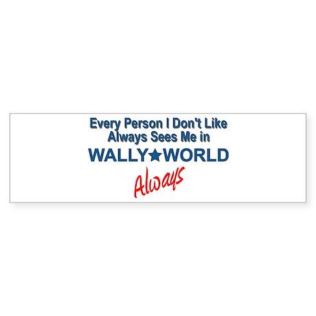Wally World Sticker (Bumper)