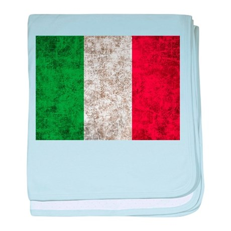 Italy Flag baby blanket