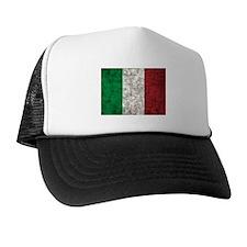 Italy Flag Trucker Hat