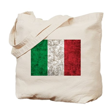 Italy Flag Tote Bag