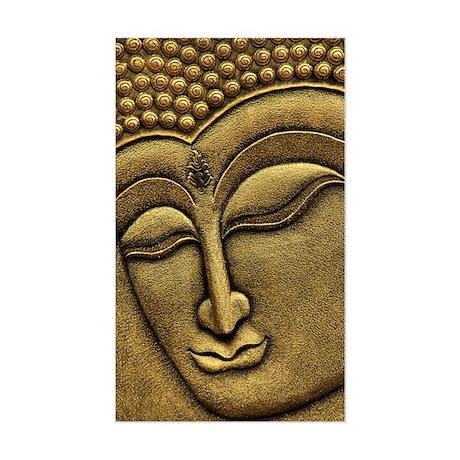 Buddha Sticker (Rectangle)